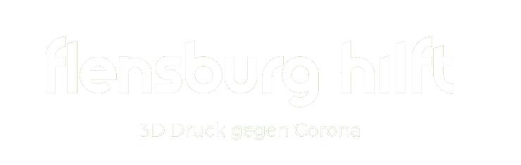 Flensburg Hilft - 3D-Druck gegen Corona